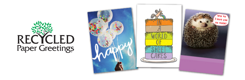 Recycled sample Cards